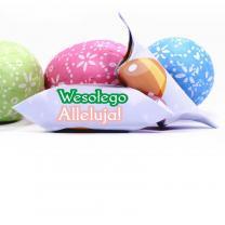 Krówki Wielkanocne z logo