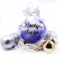 Bombka Wesołych Świąt