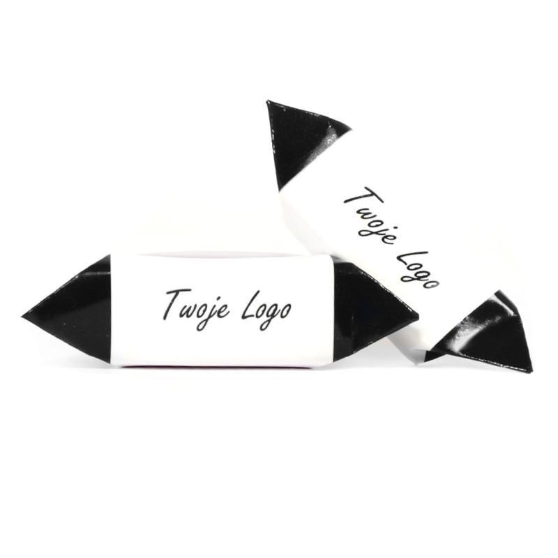 Krówki z logo